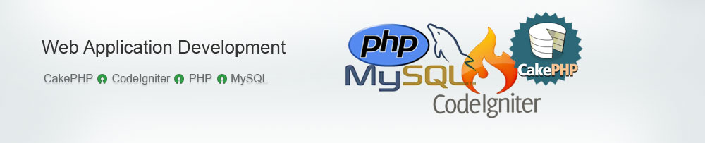 web based software application development using PHP, MySQL, Codeigniter, CakePHP in Kolkata, India